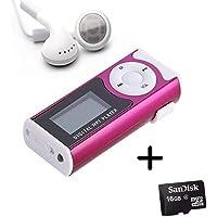 King Shine Digital MP3 Player with LCD Display with Memory Card/TF Slot (Digital MP3 Player with 16GB SD Memory Card)
