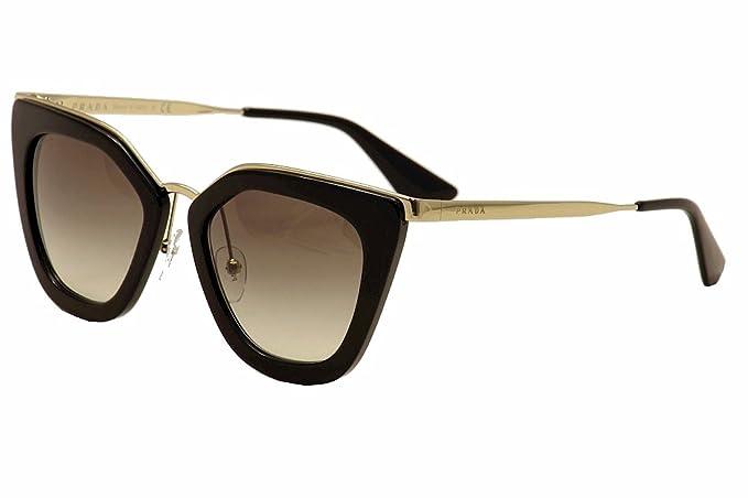 5d5a61448d06 PRADA Women s 53SS 0Pr53Ss 1Ab0A7 52 Sunglasses Black Gradient ...