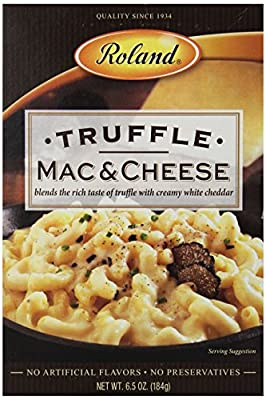 Roland Whole Wheat Mac & Cheese, Truffle, 6.5 Ounce (Pack of 12)