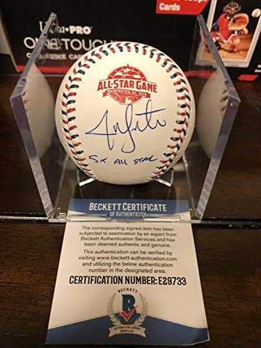 Jon Lester Autographed Signed 2018 All Star Game Asg Baseball Inscription BAS COA - Authentic Memorabilia
