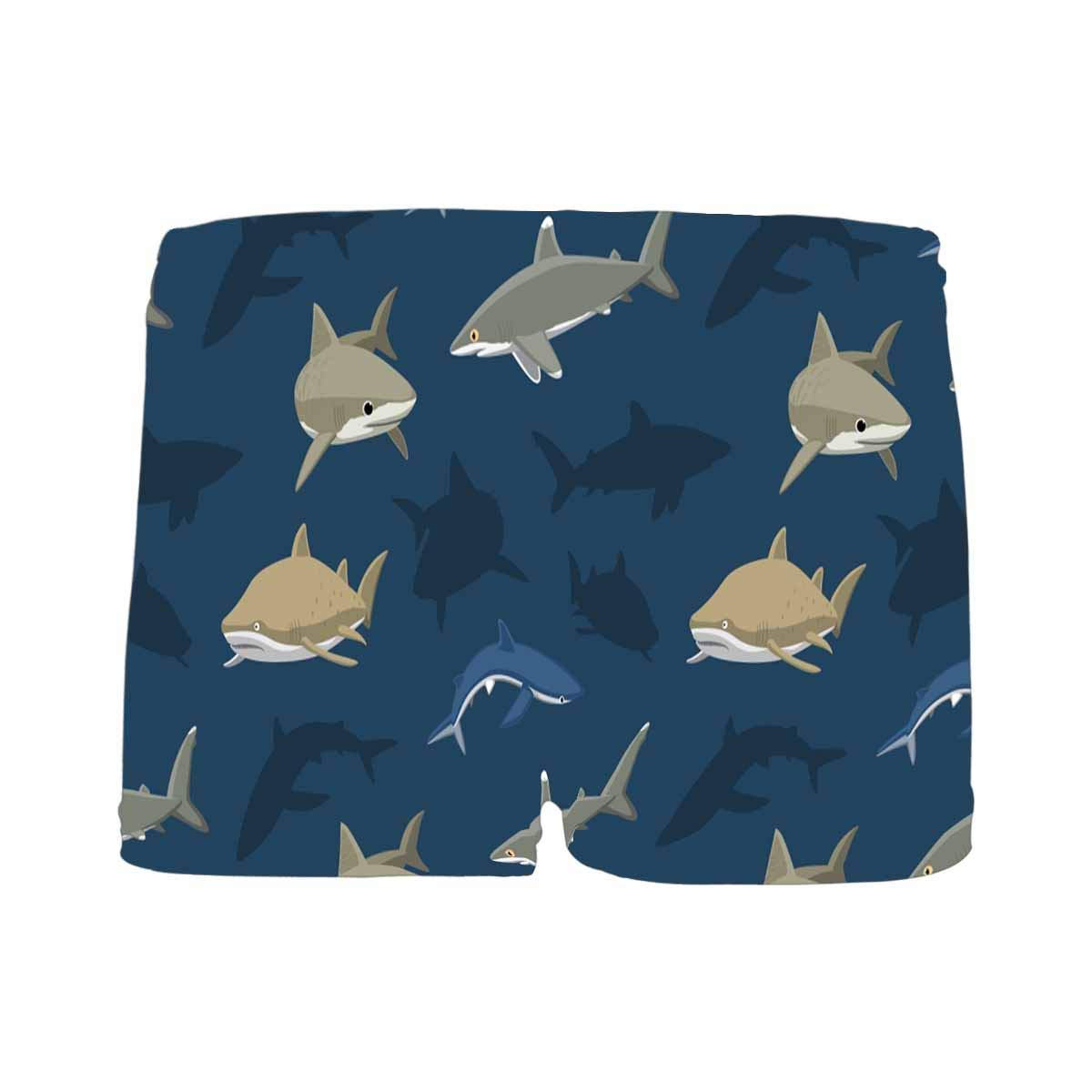 InterestPrint Kids' Sharks Comfortable Breathable Briefs(5T-2XL)
