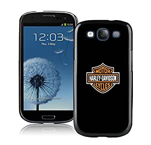 Samsung Galaxy S3 Harley Davidson Black Screen Cellphone Case Lovely and Fashion Design