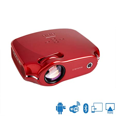 NCBH Proyector inalámbrico Android, Mini HD Proyector ...