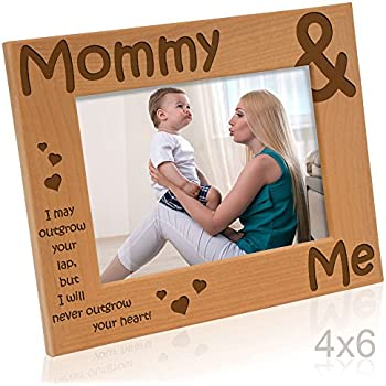 Amazon.com - Kate Posh - Mommy & Me, I may outgrow your lap, but I ...
