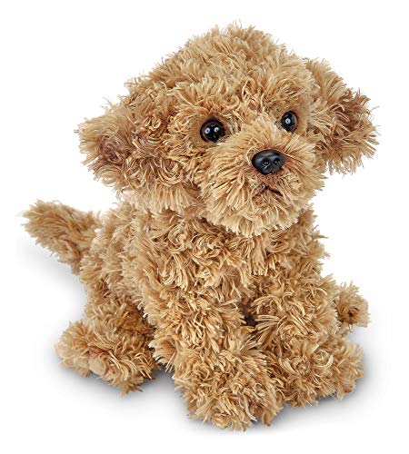 (Bearington Doodles Labradoodle Plush Stuffed Animal Puppy Dog, 13 inches)