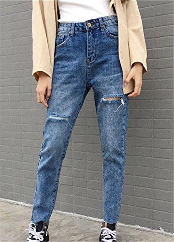 bleu Jeans clothing bleu COCO Carotte Femme p1Oncp4Wx7