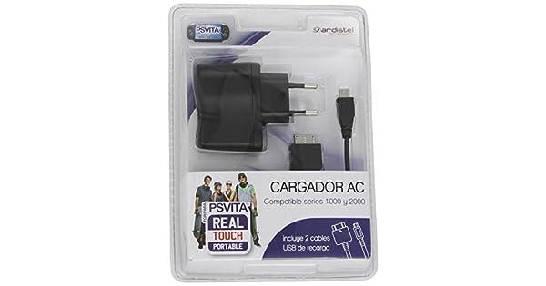 Ardistel - Cargador De Corriente AC Doble Con Cable (PS Vita ...