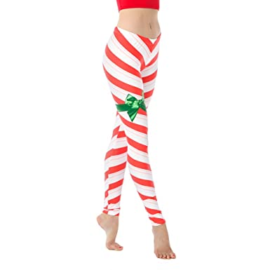 04391979c643d Alexandra Collection Womens Christmas Candy Cane Nutcracker Athletic  Leggings at Amazon Women's Clothing store: