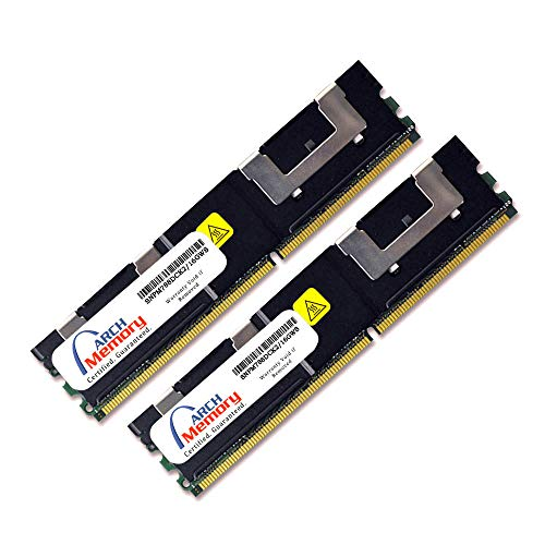 Arch Memory SNPM788DCK2/16GWS Replacement for Dell 16 GB (2 x 8 GB) 240-Pin DDR2-667 PC2-5300 ECC FB-DIMM RAM