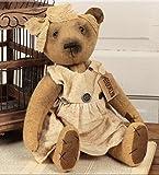 Cheap hm Doll – Brooklyn Bear – Primitive Country Rustic Stuffed Teddy Decor