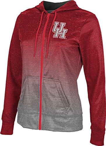 Prep Full Zip Hoodie (ProSphere University Of Houston Women's Fullzip Hoodie - Ombre (Medium))