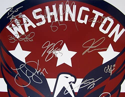 d4b334c42 2017-18 Stanley Cup Champions Washington CAPITALS Team Multi SIGNED ...