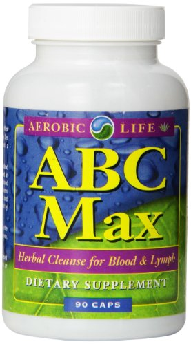 Aerobic Life ABC Max Herbal Blood and Lymph Cleanse Supplement Capsules, 90 Count