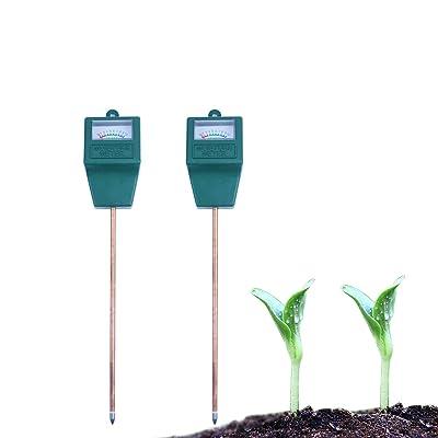 Dodoshop 2pack Soil Moisture Meter Sensor Meter for Garden, Farm, Lawn Plants Indoor & Outdoor(No Battery Needed) : Garden & Outdoor