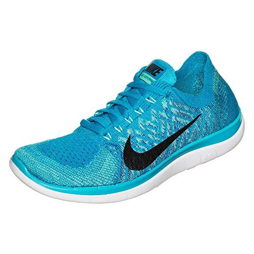 wholesale dealer 43d7e 9c4ed Nike Women s Wmns Free 4.0 Flyknit, BLUE LAGOON BLACK-GAME ROYAL, 11 M US -  Buy Online in Oman.   Apparel Products in Oman - See Prices, Reviews and  Free ...