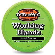 O'Keeffe's K0350002  Working Hands Hand Cream, 3.4 oz., Jar