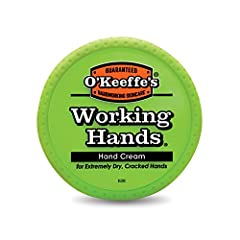 O'Keeffe's Working Hands Hand Cream is a concentrated, unscented hand cream that heals, relieves and repairs extremely dry, cracked hands. When used daily, O'Keeffe's Working Hands Hand Cream is clinically proven to instantly boost moisture l...