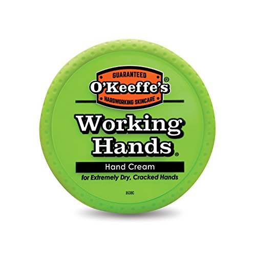 O'Keeffe's Working Hands Hand Cream, 3.4 ounce Jar (Best Moisturizer For Dry Cracked Hands)