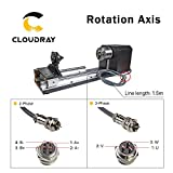 Cloudray CNC Roller Chuck Rotary Axis with 2 Phase