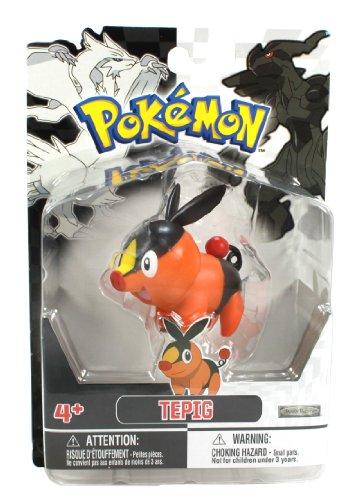 - Jakks Pacific Pokemon Black and White Figure Single Pack Volume 1 - Tepig