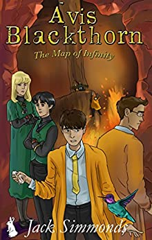 Avis Blackthorn: The Map of Infinity (The Wizard Magic School Series, Book 3) by [Simmonds, Jack]