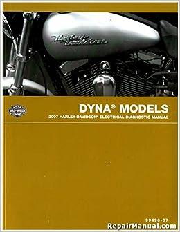 99496-07 2007 Harley Davidson Dyna Electrical Diagnostic ... on