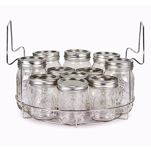 Stainless Steel Canning Rack, Flat, by VICTORIO VKP1056 by Victorio (Image #5)
