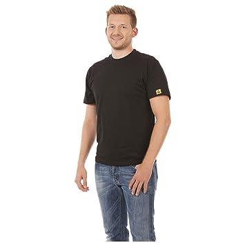 Farbe grau Warmbier ESD-T-Shirt Gr/ö/ße L