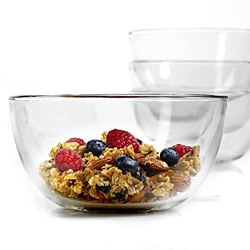 Anchor Hocking Presence 6-Inch Glass Bowl - 12 Pack