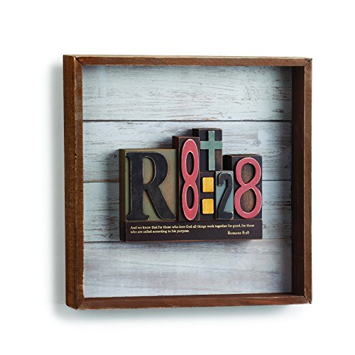 DEMFU Romans 8:28 Wood Wall Art