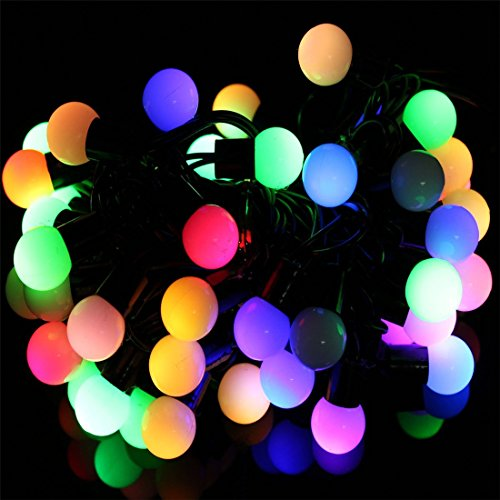 Outdoor String Lights Philippines: SurLight LED Ball String Lights With Flashing 33ft 100