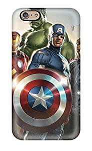 New Snap-on Skin Case Cover Compatible With Iphone 6- Avengers