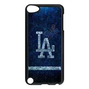 Customize MLB Los Angeles Dodgers Back Case for ipod Touch 5 JNIPOD5-1183