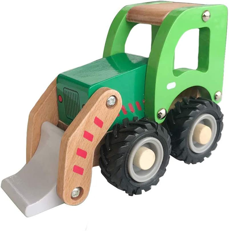 Recycle Truck Applesauce Wooden Childrens Toy