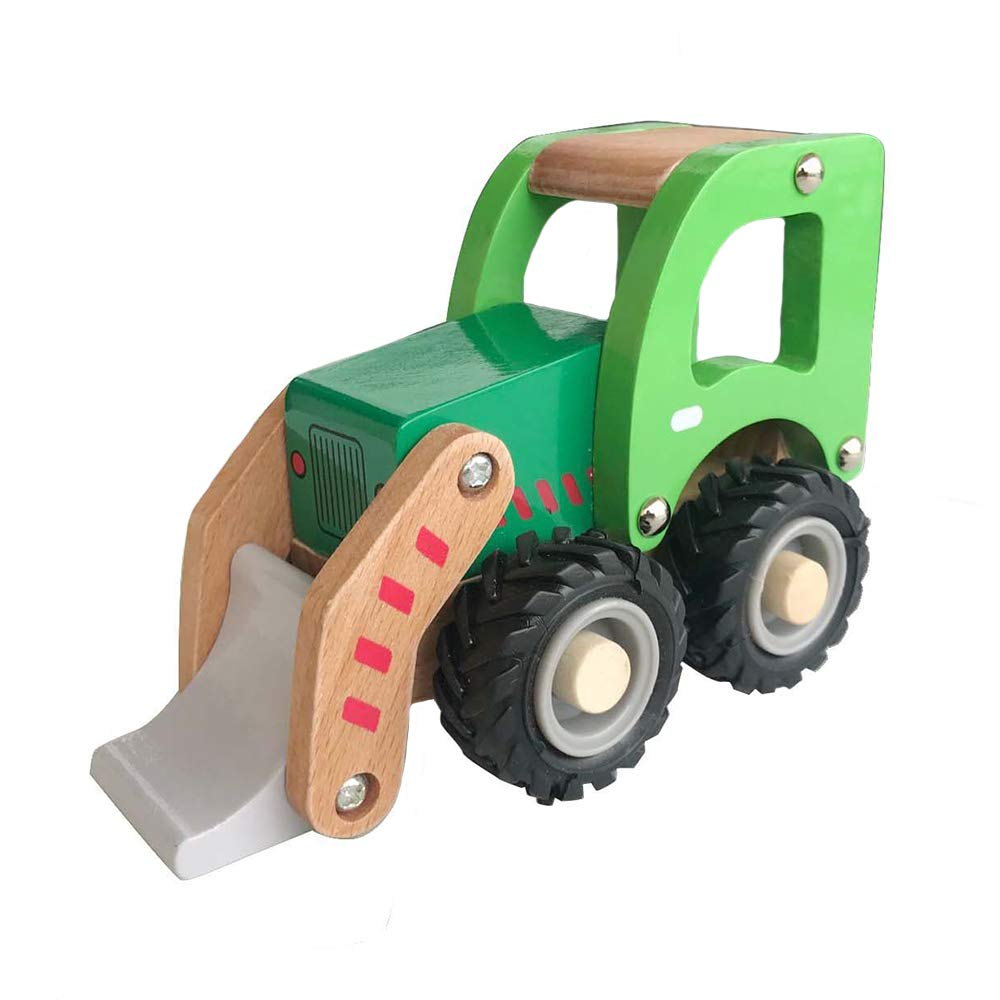 Applesauce Wooden Children's Toy Front Loader