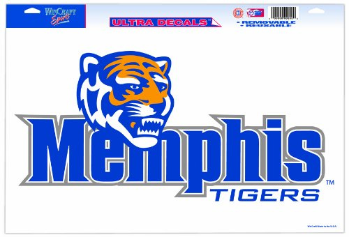 Tigers Ncaa Ultra Decal - NCAA Memphis Tigers 11-by-17 Ultra Decal