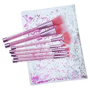 IMJONO - Juego de 7 brochas de maquillaje: Amazon.es: Belleza