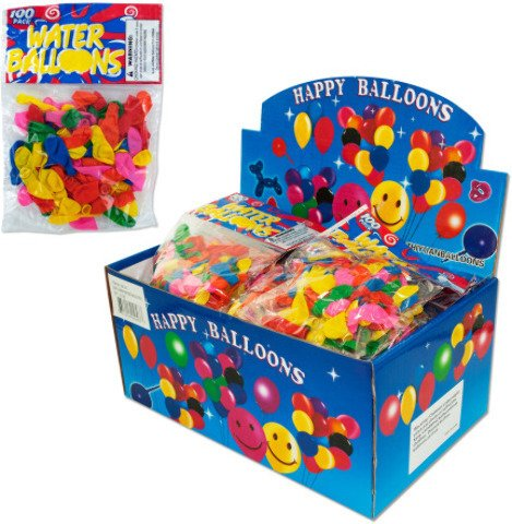 Water Balloons - 100 Pack from Bulk Buys