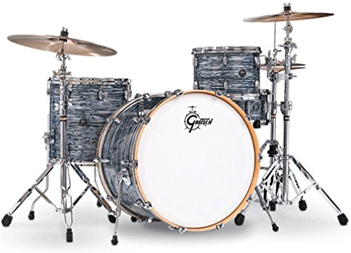 Gretsch Drums Renown 3-Piece Rock Shell Pack with 24 Inches Kick - Silver Oyster Pearl