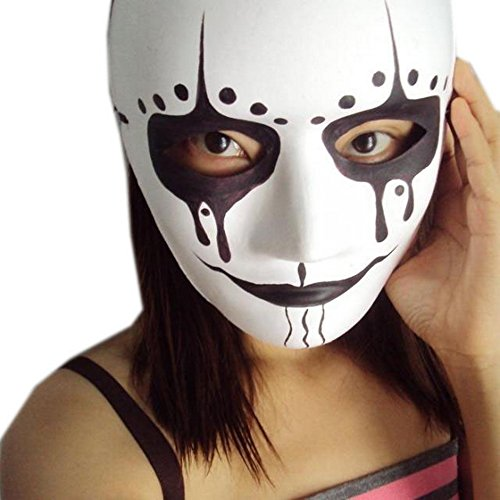 Scary Mask for Halloween Hand Painted Mask (Painted Halloween Masks)