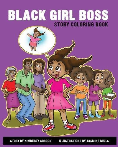 Search : Black Girl Boss Story Coloring Book