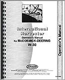 Mccormick Deering W30 Tractor Operators Manual (1935)