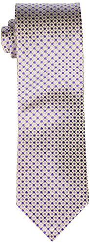 Geoffrey Beene Men's Big-Tall All Day Neat Extra Long Tie