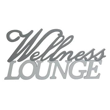 Gut gemocht Annastore Holzschrift 3D Wellness-Lounge 23 cm doppelreihig DI39