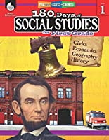 180 Days of Social Studies for First Grade - Daily Practice Book to Improve 1st Grade Social Studies Skills - Social Studies Workbook for Kids Ages 5 to 7 (180 Days of Practice)