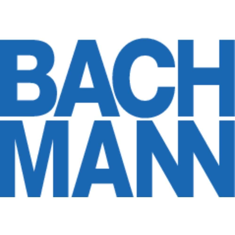 Bachmann 202.285 Zuleitung mit Eurostecker Weiss-einzeln verpackt L/änge 3m H03VVH2-F 2x0,75
