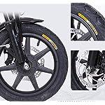 JXH-14-Pollici-Pneumatici-E-Bike-3-Equitazione-modalit-di-25-KmH-22Ah-Batteria-al-Litio-Sellino-Regolabile-Doppio-Disco-Freni-Bicicletta-Elettrica-per-Il-PendolarismoBianca