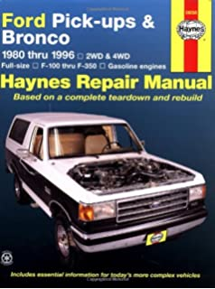 1993 ford bronco owners manual