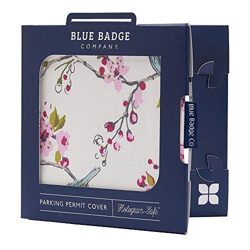 Blue Badge Co. Blue Bird Parking Permit Cover