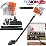 HANDY VACUUM CLEANER DUAL CYCLONE UPRIGHT BAGLESS EXTENDABLE NEW W/9 ACCESSORIES (FUSION) TM